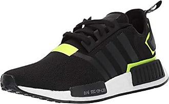 adidas Originals Mens NMD_R1 Running Shoe, Black/White 1, 8 M US