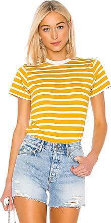 Hanes x Karla The Stripe Crew in Mustard