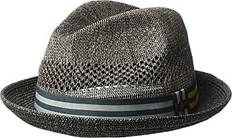 79b8ddf85d988 Bailey of Hollywood Mens Berle Fedora Trilby Hat with Striped Band