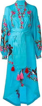 Yuliya Magdych Swallows dress - Blue