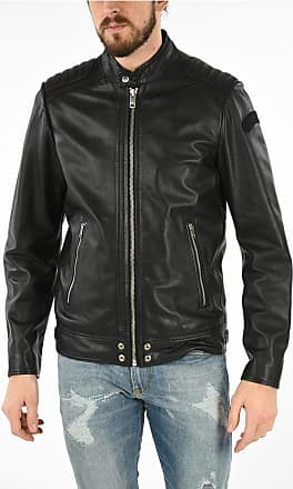 Diesel Leather L-SHIRO-WH Jacket size Xl