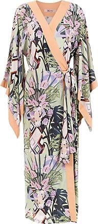 TIG Vestido kimono Guta - Estampado