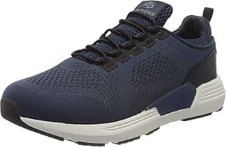 Dockers by Gerli Mens 46fz001-706660 Low-Top Sneakers, Blue (Navy 660), 12 UK