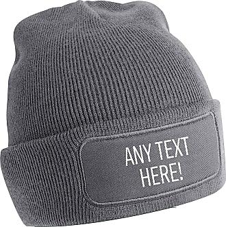 Flox Creative Grey Beanie Any Text Here