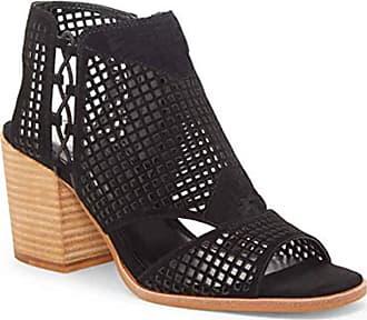 Vince Camuto Womens Kampbell Open Toe Casual Platform Sandals, Black, Size 5.5 U US