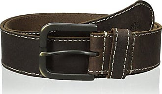 Timberland Mens 40Mm Oily Milled Belt, Brown, 40