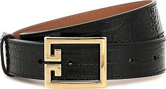 Givenchy Gürtel Double G aus geprägtem Leder
