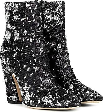 Jimmy Choo London Mirren 100 sequinned ankle boots