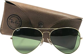 fd343d27212 Ray-Ban New Vintage Ray Ban Aviator 62mm Rb3 Green Lenses B l Sunglasses