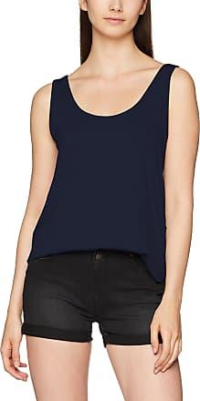 Pieces Womens PCBILLO Tank TOP Solid NOOS, Blue (Navy Blazer Navy Blazer), 8 (Size: X-Small)