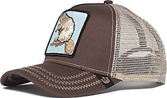 2191b214 Goorin Brothers Mens Animal Farm Baseball Dad Hat Trucker, Brown, One Size