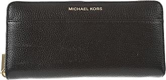 fb3e616e06b Michael Kors Wallet for Women On Sale, Black, Leather, 2017, One size