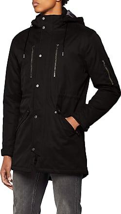 Only & Sons Mens Onsklaus Parka Winter Jacket Noos, Black (Black Black), Medium