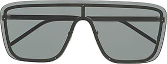 Saint Laurent Eyewear Óculos de sol SL364 Mask - Preto