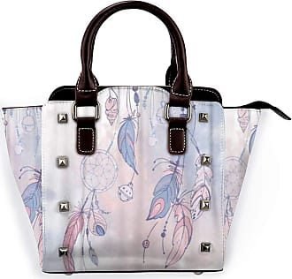 Browncin Feathers And Beads Native American Indian Dream Catcher Arrow Detachable Fashion Trend Ladies Handbag Shoulder Bag Messenger Bags