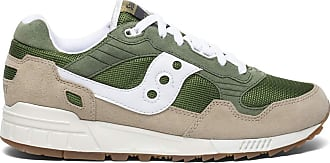 Saucony Unisex Adults Shadow 5000 Green/Brown Track and Field Shoe, 10.5 UK
