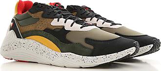 Alexander McQueen Sneaker für Herren, Tennisschuh, Turnschuh Günstig im Outlet Sale, Militär Grün, Polyester, 2019, 40 41 42 43 45