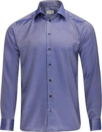Eton Slim Fit Shirt Indigo - 17