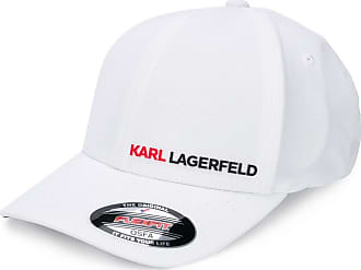 Karl Lagerfeld logo cap - Branco