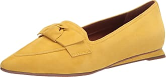Franco Sarto Womens Raya Loafer Flat, Yellow, 5.5
