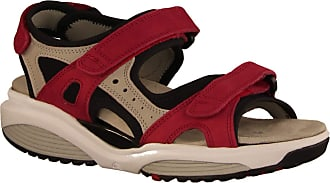 Xsensible Stretch Walker/Model: Chios/Red/Beige/Leather/Type: 300501-701 Womens Sandals Red Size: 7 UK