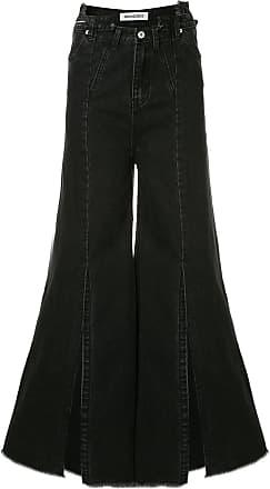 Ground-Zero frayed flared jeans - Grey