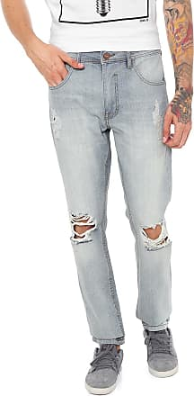 ...Lost Calça Jeans...Lost Slim Destroyed Azul