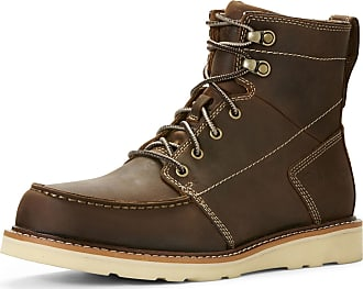 Ariat Mens Recon Lace Boots in Distressed Brown, D Medium Width, Size 10.5, by Ariat