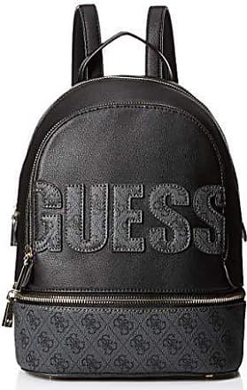 Guess Damen Rucksack Schwarz Tasche