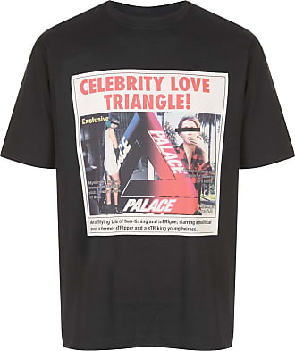 Palace Camiseta Love Triangle - Preto