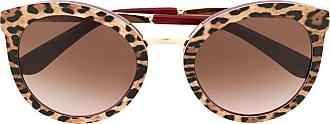Dolce & Gabbana Eyewear Óculos de sol de oncinha - Neutro