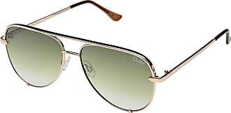Quay Eyeware High Key Mini QUAY X DESI (Rose/Green Fade) Fashion Sunglasses
