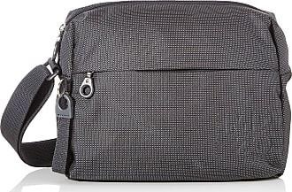 Mandarina Duck Md 20 Womens Cross-Body Bag, Grey (Steel), 10x21x28.5 Centimeters (W x H x L)