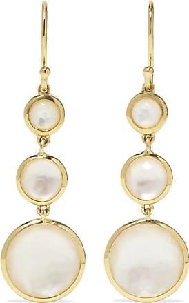 Ippolita Lollipop 18-karat Gold Mother-of-pearl Earrings