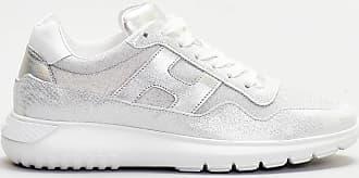 Hogan sneaker scamosciata - argento