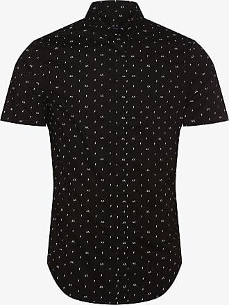 A|X Armani Exchange Herren Hemd schwarz