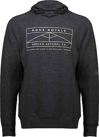 Mons Royale Covert Lite Funnel Hood Pullover - Mens