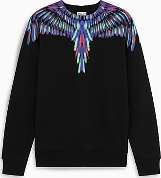 Marcelo Burlon Black Fluo Wings sweatshirt