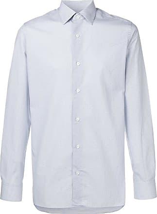 Ermenegildo Zegna longsleeved shirt - Blue
