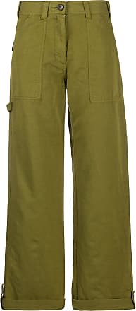 Ymc You Must Create wide leg trousers - Green