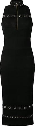 Versace Jeans Couture Vestido slim mesh - Preto