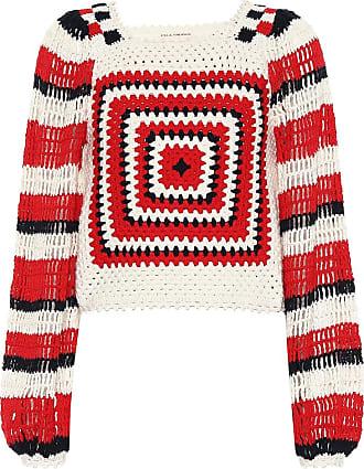 Ulla Johnson Beso cotton crochet sweater
