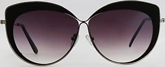 C&A Óculos de Sol Gatinho Feminino Oneself Prateado - Único