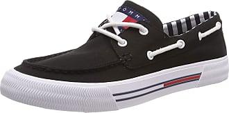 Tommy Jeans Mens HYBRID CITY Slip-on Sneaker, Black 990 9 UK
