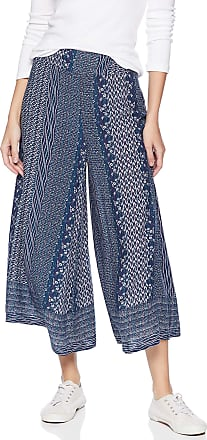 O'Neill Womens Lizzie Wide Leg Woven Pant Casual, Medieval Blue, Large