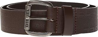 Diesel Belt With Logo Mens Brown