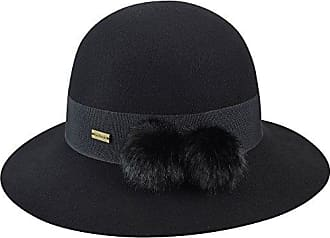74127388d5e03 Betmar Womens Mullins Round Crown Hat with Faux Fur Poms