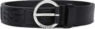 Diesel Cinto com logo - Preto