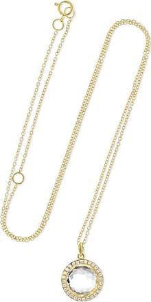 Ippolita Lollipop Mini 18-karat Gold, Quartz And Diamond Necklace