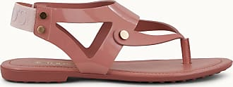 Tod's Sandals in Patent Leather and Leather